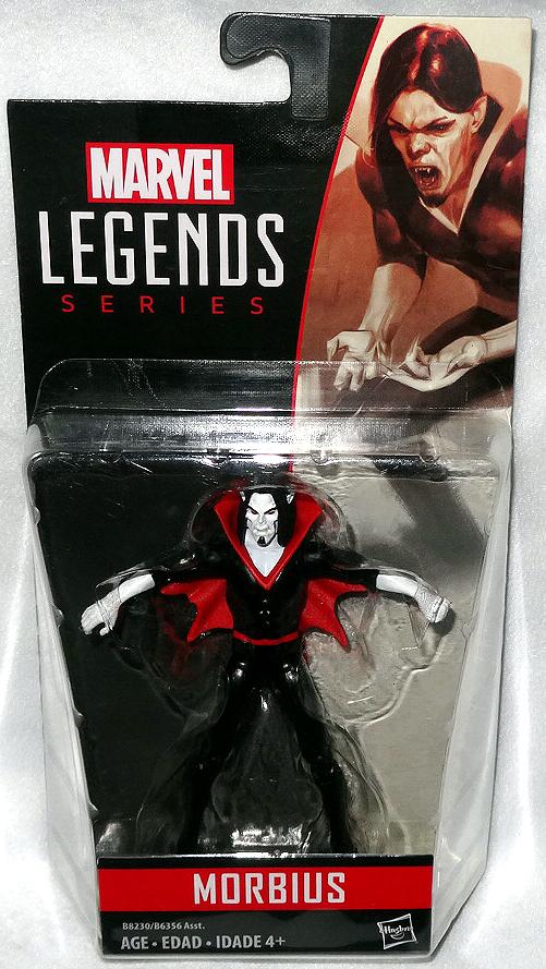 "Marvel Legends Series MORBIUS 3.75/"" Action Figure Spiderman Villain"