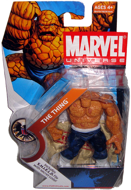 "Marvel Universe Fantastic Four The Thing White Pants 3.75/"" Loose Action Figure"