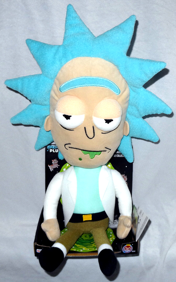 Funko Rick and Morty Galactic PLUSHIES Rick bored Plush Figure