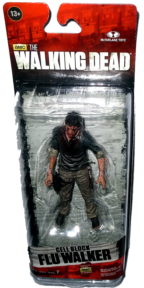 Amc The Walking Dead Cell Block Flu Walker